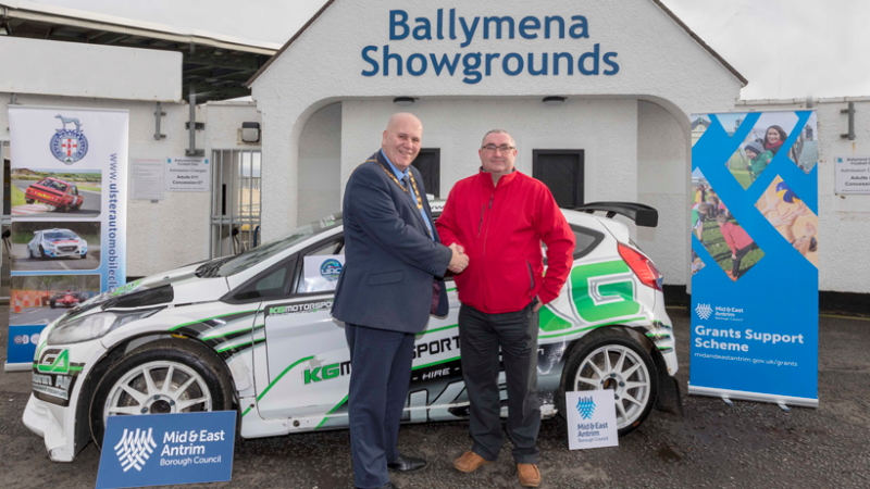 Mid & East Antrim Gears up for Rip-Roaring Finale of UAC Easter Stages Rally 2018
