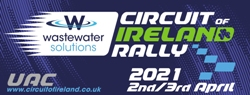 Wastewater Solutions UAC Circuit of Ireland Rally 2021